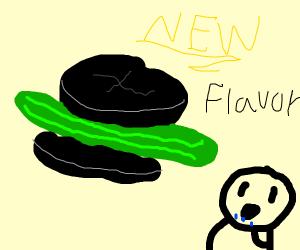 Oreos: pickle flavour