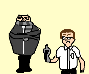 Gru and Angry Video Game Nerd