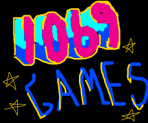 1069 games!