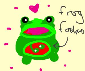 Pregnant Frog