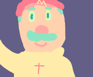 Mario is the Pope