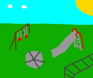 a play park