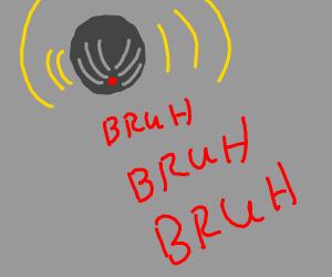 The BRUH alarm got set off!