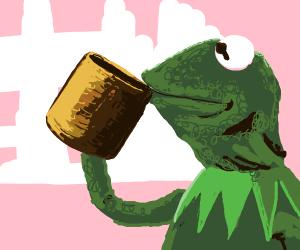 Kermit coffee