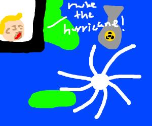 nuke the hurricane