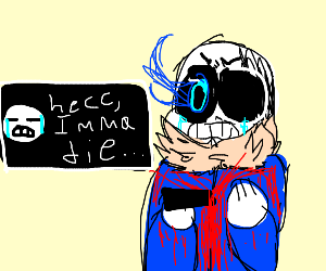 sans is going to die