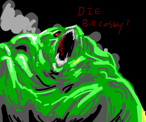 Cosby & a slightly less evil eldrich monster