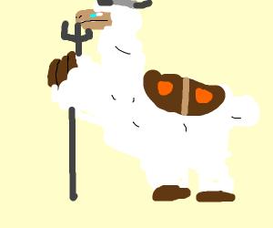 Warrior Llama