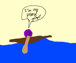 Proud grape rows down the river