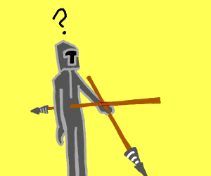 Confused lancer