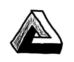 illusional triangle