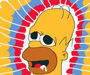 Homer on drugs