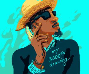 Congrats 3000 drawings!