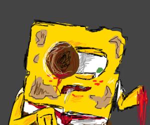 Zombie spongbob