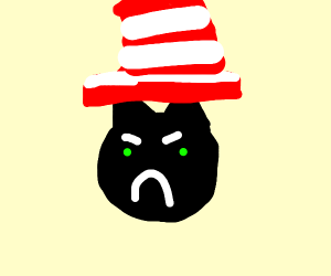 Cranky Cat in the Hat