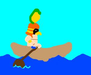 The Sun God's Boat