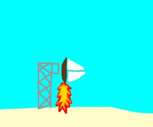 a sailboat accelerates at high velocity