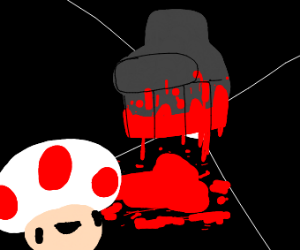 Toad enters the mush-room