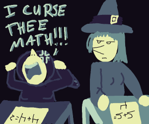 Witches do math