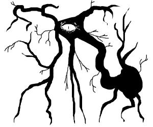 Tentacled aberation demon