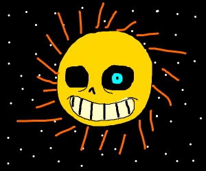 sans on the sun