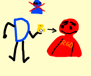drawception gives reward to team red