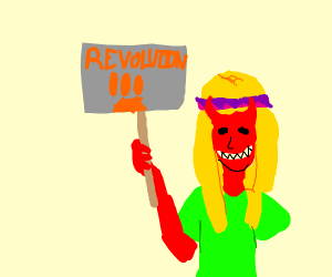 demon hippie wants revoution