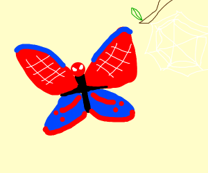 Spiderman the butterfly