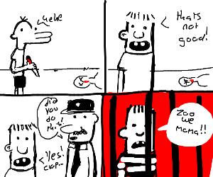 A Zoo Wee Mama cartoon