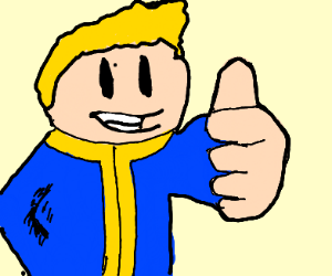 Vault-Boy from Fallout