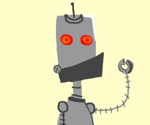 Red eyed robot