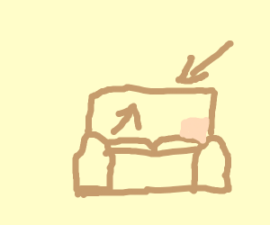 Back of a couch