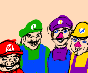 Mario and the boys