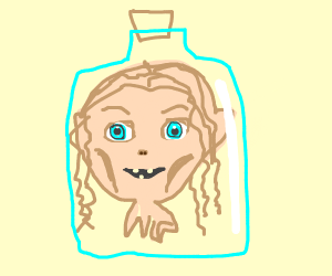 Gollum in a Bottle