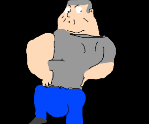 That one dude from family guy without shorts