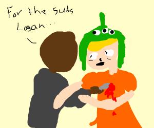 Ksi stabs Logan Paul