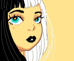 yin-yang woman