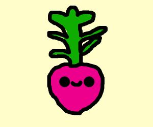 smiling beet