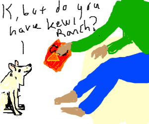 """Dog Asks Owner for """"Kewl Ranch"""" Doritos"""