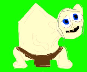 Gollum eats a house