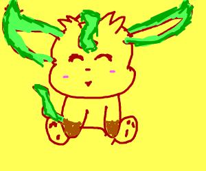 Very Kawaii chibi  Leafeon