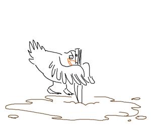 Duck killing mud