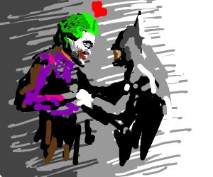 Joker in love with batman