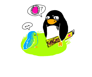 Penguin who is SUPER lost