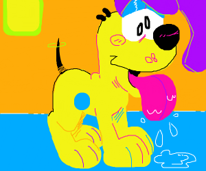 odie the dog from garfield