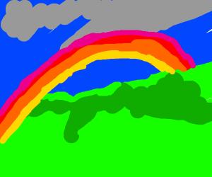 A monochromatic rainbow