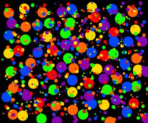 a buncha dots