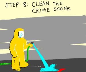Step7:Clean yourself