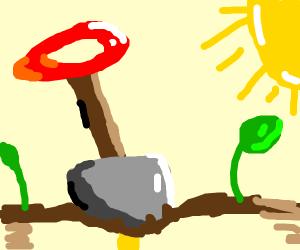 A shovel