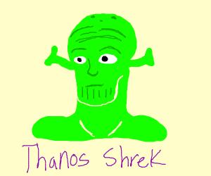 If Thanos and Shrek had a man-baby